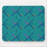 """PDX Portland Airport Carpet Mouse Pad<br><div class=""""desc"""">Iconic PDX Portland Oregon airport carpet.</div>"""
