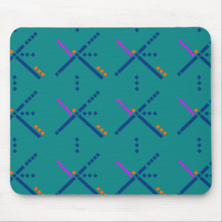PDX Portland Airport Carpet Mouse Pad