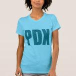 PDX Portland Airport Carpet Text T Shirt