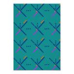 PDX Portland Carpet 3.5x5 Paper Invitation Card