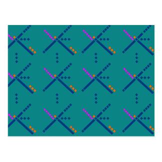 PDX Portland Carpet Postcard