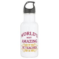 PE Teacher Stainless Steel Water Bottle