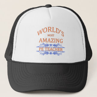 PE Teacher Trucker Hat
