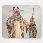 PE-Toh-Pis-Beso indio Blackfoot, las costillas de  Alfombrilla De Ratón