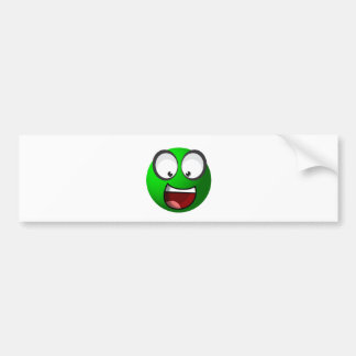 Pea Ball Bumper Sticker