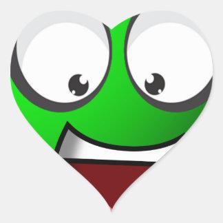 Pea Ball Heart Sticker