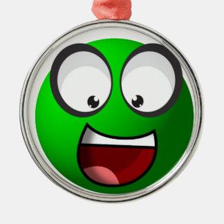 Pea Ball Metal Ornament