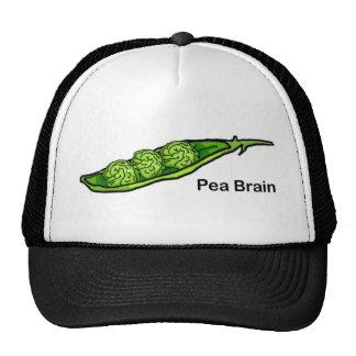 Pea Brain Hat