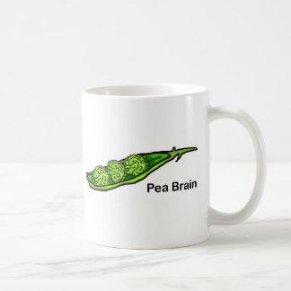 Pea Brain Coffee Mugs