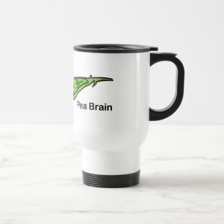 Pea Brain Travel Mug