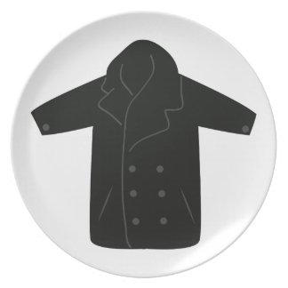 Pea Coat Dinner Plate
