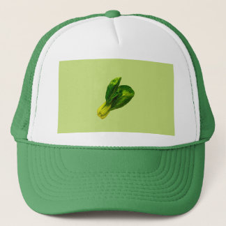 Pea Green Bok Choy Trucker Hat