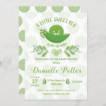 Pea in a Pod Baby Shower Invitations for Baby Boy
