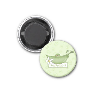 Pea in a Pod Baby Shower Magnet