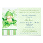Pea in a pod invitation