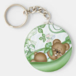 Pea in a Pod Keychain
