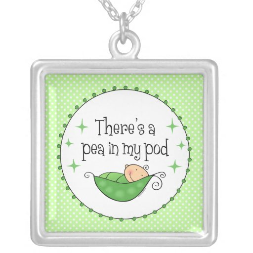 Pea In My Pod Necklace