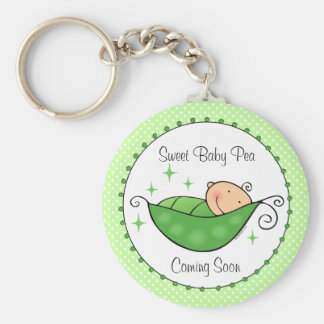Pea In My Pod Personalized Keychain