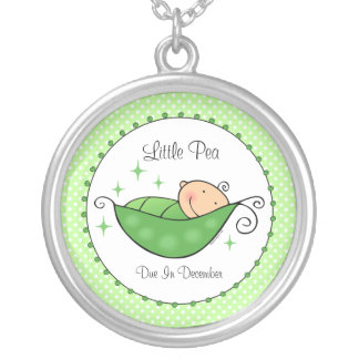 Pea In My Pod Personalized Necklace