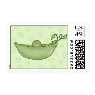 Pea in the Pod postage stamps