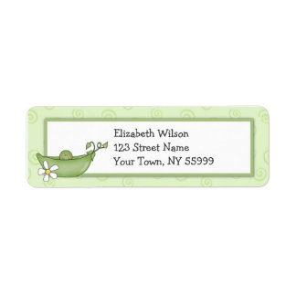 Pea in the Pod Return Address Labels