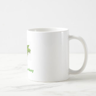 pea, Pea-off i'm busy Classic White Coffee Mug