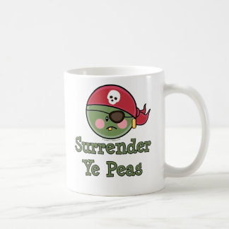 Pea Pirate Funny Cup