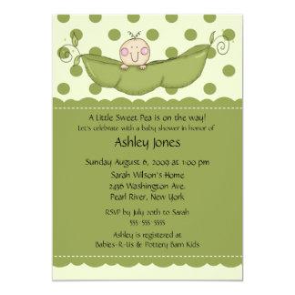 Pea Pod Baby Baby Shower Invitations