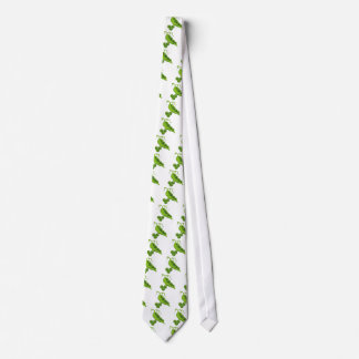 Pea Pod Cartoon Neck Tie