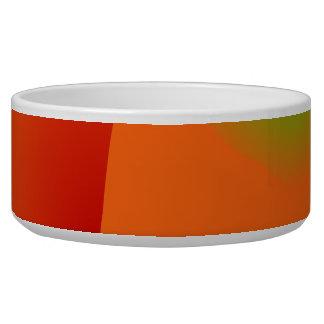 Pea Pod Dog Bowls