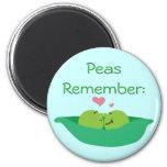 Pea Pod Sweetheart Magnet