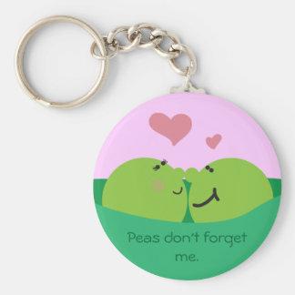 Pea Pod Sweethearts Keychain