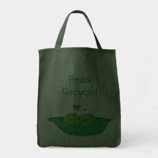 Pea Pod Sweethearts Peas Recycle! Bag