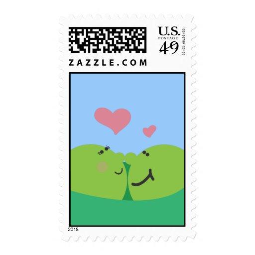 Pea Pod Sweethearts Postage