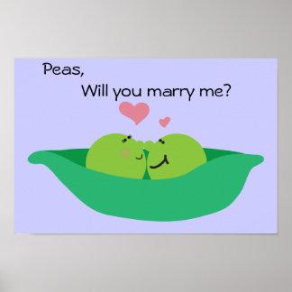 Pea Pod Sweethearts Poster