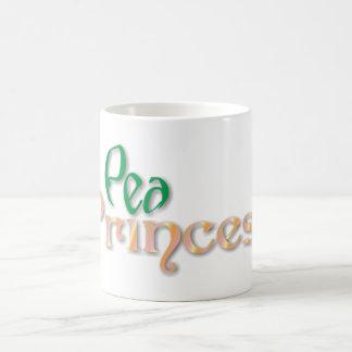 pea princess tazas de café