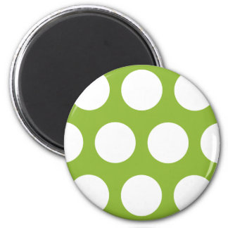 Pea Soup Green 2 Inch Round Magnet