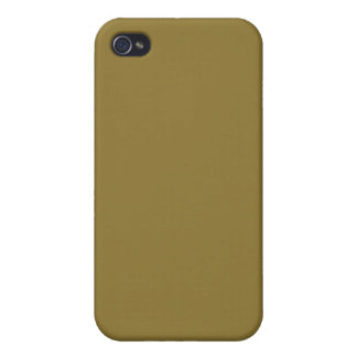 Pea Soup Green Color Trend Blank Template Case For iPhone 4