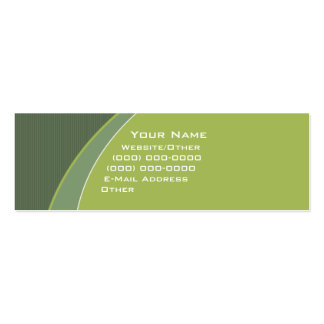 Pea Soup V.2 Double-Sided Mini Business Cards (Pack Of 20)
