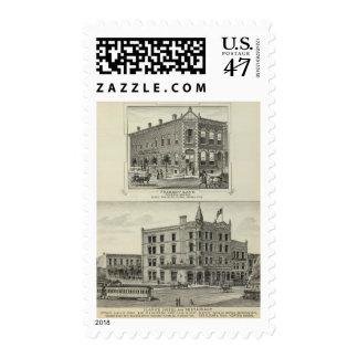 Peabody Bank, Kansas Postage