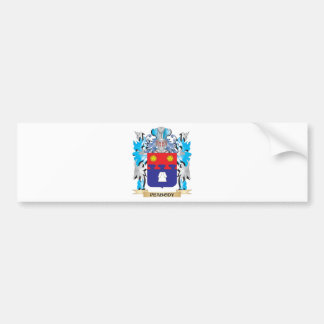 Peabody Coat of Arms - Family Crest Car Bumper Sticker