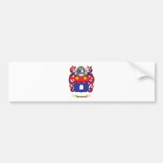 Peabody Coat of Arms (Family Crest) Car Bumper Sticker