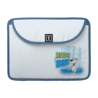 Peabody Knows Best Sleeve For MacBooks