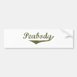 Peabody  Revolution t shirts Car Bumper Sticker