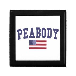 Peabody US Flag Jewelry Box