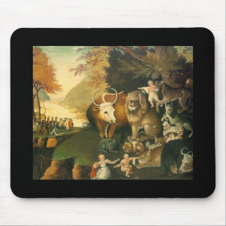 Peacable Kingdom by Edward Hicks Mouse Pad