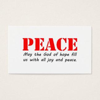 Peace3.jpg Business Card
