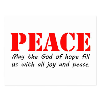 Peace3.jpg Postcard