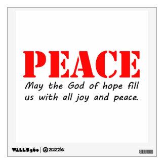 Peace3.jpg Wall Sticker