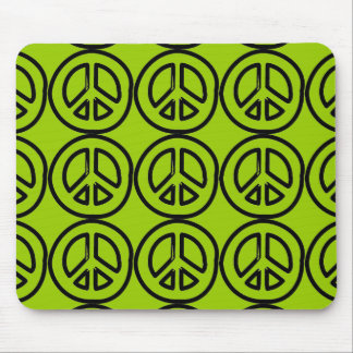 peace801 PEACE SYMBOL SIGN CAUSES MOTIVATIONAL DRA Mousepad